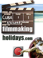 filmmaking holidays .com - DV Tuition Classes and Workshops